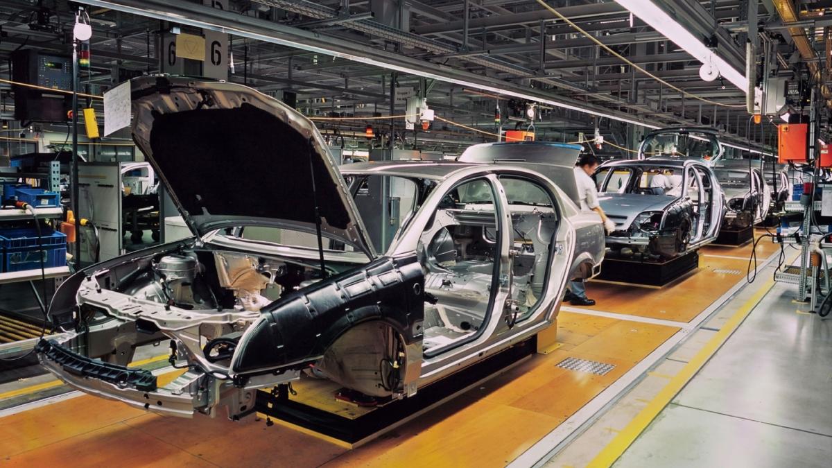 Avto industrija - barcode nalepke