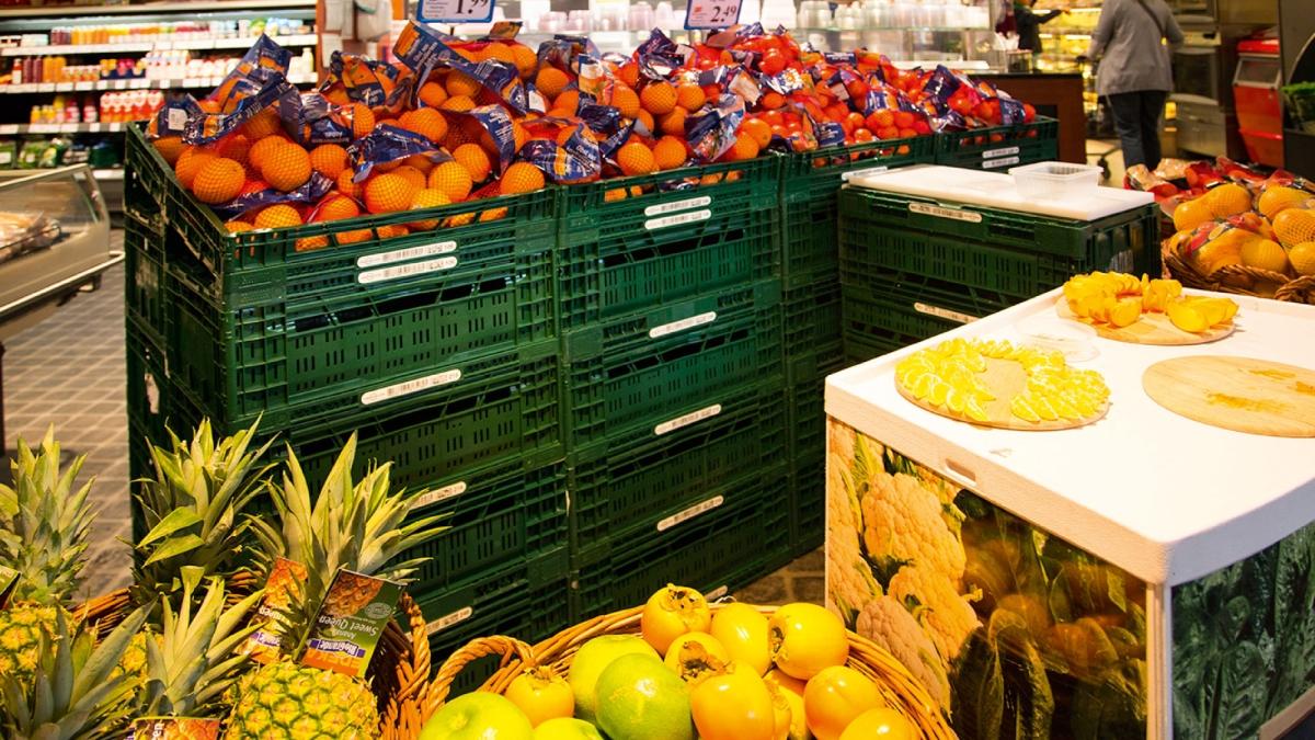 Hrana in prehrambeni izdelki - barcode nalepke