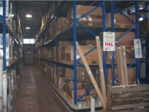 Skladišče in logistika - urejeno skladišče