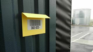 Skladišče in logistika - odsevne barcode nalepke