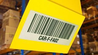 Skladišče in logistika - visoke barcode nalepke