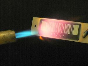 Skladišče in logistika - visoko temperaturne barcode nalepke