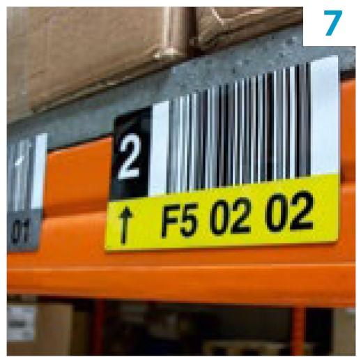 Skladišče in logistika - barcode nalepke